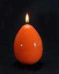bougie-oeuf-orange-taille-m