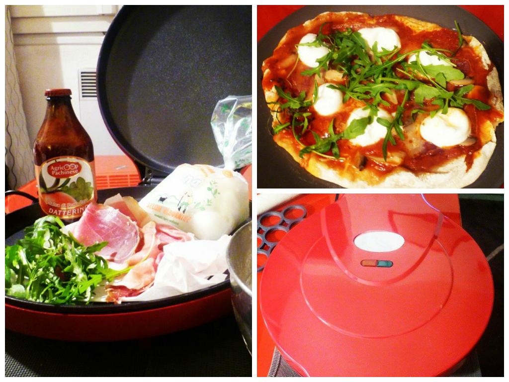 pizza olo la maison machine pour cuire les pizzas. Black Bedroom Furniture Sets. Home Design Ideas