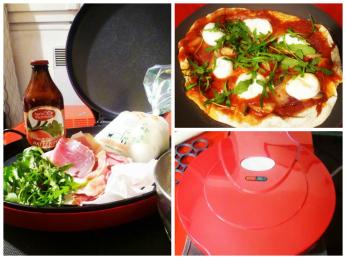 machine à pizza montage