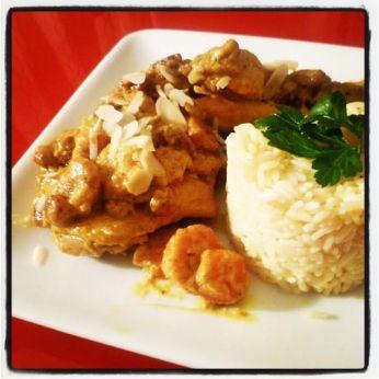 Femme Curry ...(poulet au curry)