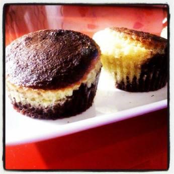 Mel Mel et son gâteau marbré (Marbré vanille chocolat)